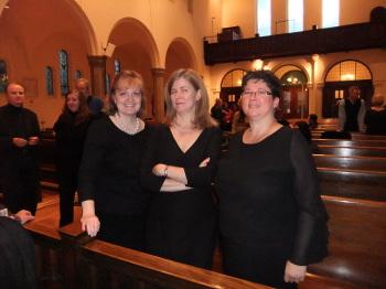 Photo of Julia Armstrong, Stephanie Martin, Jo-Ann Dawson